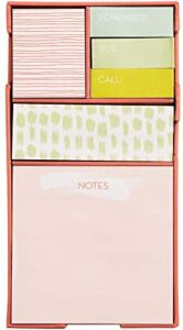 C.R. Gibson 'Bright and Artsy' Sticky Note Stationery Set Desk Accessory, 600pc.