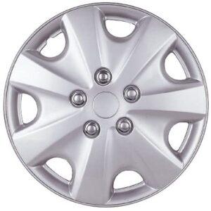 Drive Accessories KT-957-15S/L, Honda Accord, 15″ Silver Lacquer Replica Wheel Cover, (Set of 4)