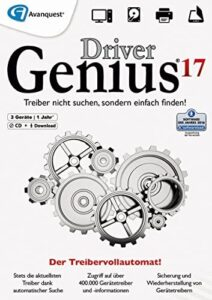 Driver Genius 17 – Keep your drivers up-to-date automatically and keep your PC running like new! Windows 10|8|7 [Download]
