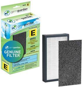 Guardian Technologies GermGuardian Air Purifier Filter FLT4100 GENUINE HEPA Replacement Filter E for AC4100, AC4100CA AC4150BL, AC4150PCA Germ Guardian Air Purifiers