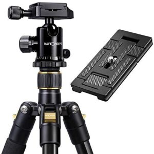 """K&F Concept 62"""" DSLR Tripod with 2in1 Quick Release Plate"""