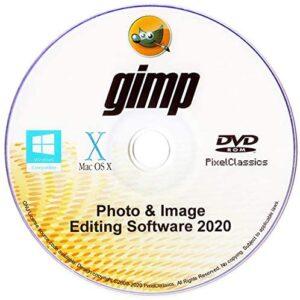 GIMP Photo Editor 2020 Premium Professional Image Editing Software for PC Windows 10 8.1 8 7 Vista XP, Mac OS X & Linux – Full Program & No Monthly Subscription!
