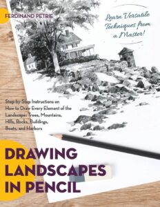 Drawing Landscapes in Pencil
