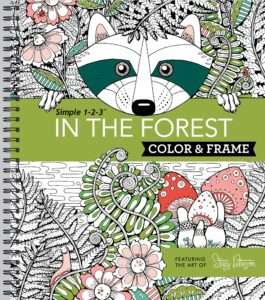 Color & Frame Coloring Book – In the Forest
