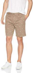 Amazon Essentials Men's Slim-Fit Plaid Short