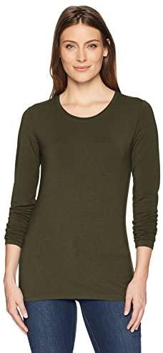 Amazon Essentials womens standard Long-sleeve T-shirt