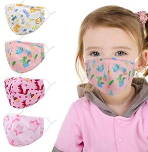 Children Fashionable Printed Pattern Dust Cotton Mouth Washable and Reusable for Dust, Sports, Outdoors