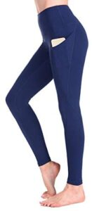 Occffy Yoga Pants for Women Flex High Waist Leggings with Pockets Tummy Control Workout Running Tights CK888