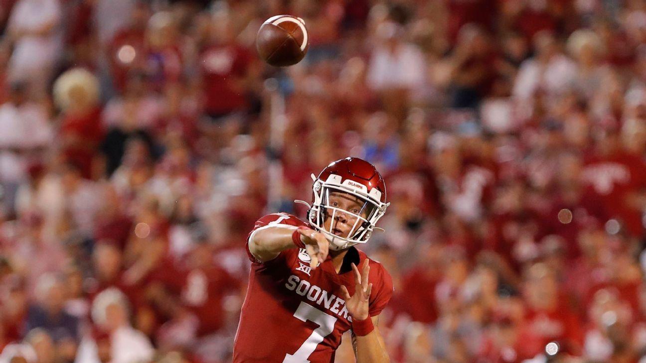 Redshirt freshman QB Spencer Rattler to start for Oklahoma