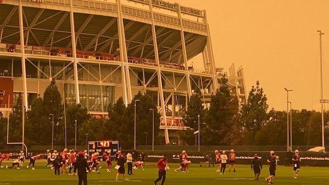 San Francisco 49ers remain hopeful for Sunday despite air quality concerns