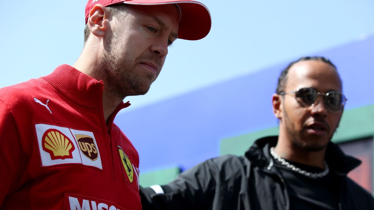 Hamilton says Aston Martin is 'ideal' move for Vettel