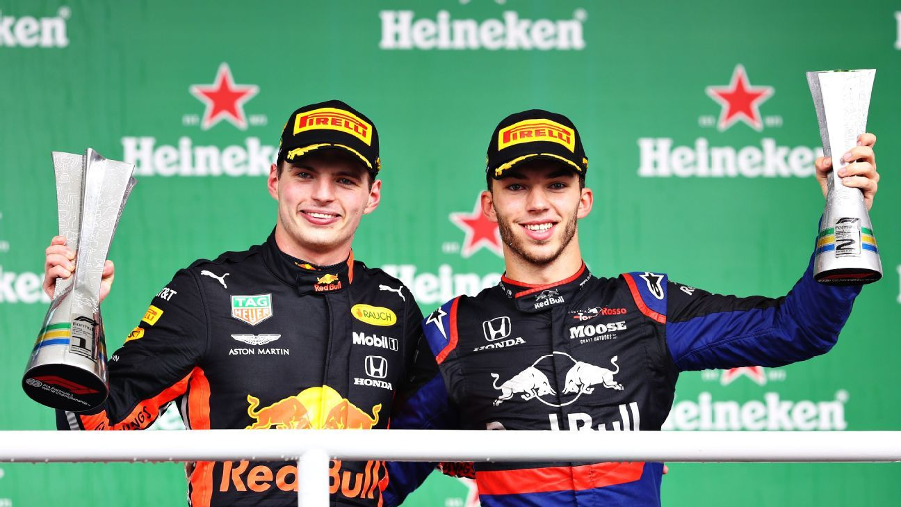 Verstappen's advice to Gasly — Stay at AlphaTauri