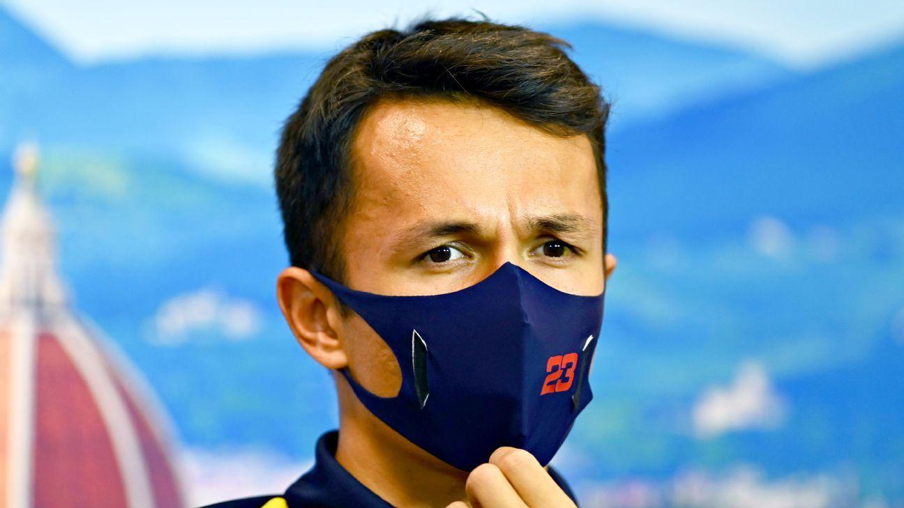 Red Bulls Alex Albon looking forward to change of scenery at inaugural Tuscan Grand Prix