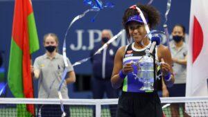 Naomi Osaka rallies for 3-set win over Victoria Azarenka to capture second US Open title