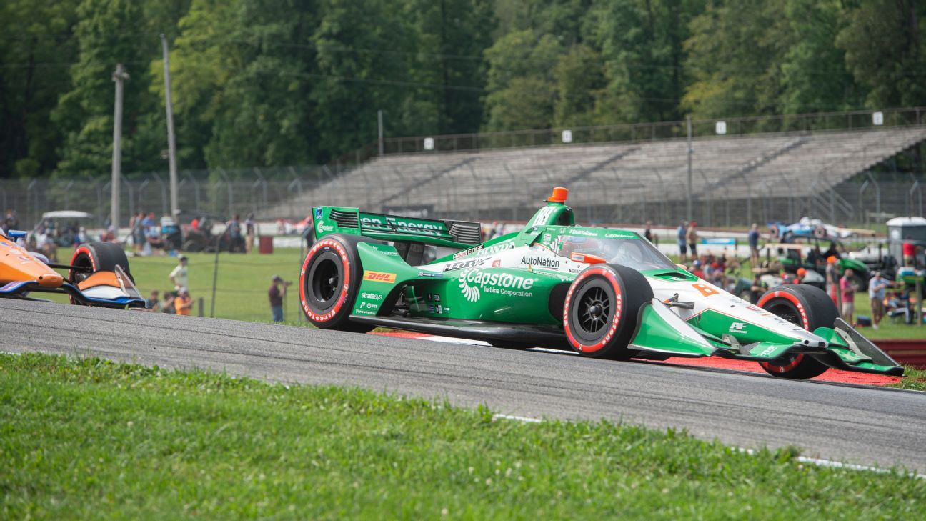 Colton Herta leads 1-2-3 Andretti sweep at Mid-Ohio