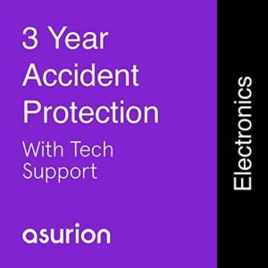 ASURION 3 Year Portable Electronic Accident Protection Plan with Tech Support $125-149.99