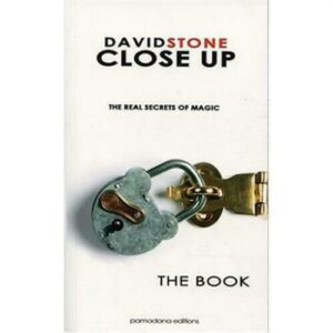 Close Up The Real Secrets of Magic Autographed by David Stone – Magic