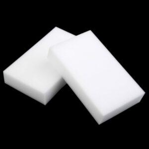 White Magic Sponge Eraser Cleaner Melamine Foam 100 Pcs For Car Multi Functional