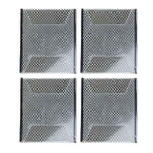 4x Card Sleeves Change Illusion Magic Trick Props for Fun Party Accs Black