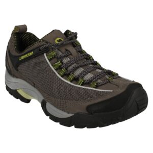 MENS MERRELL SCOUT LACE UP LEATHER MESH WALKING HIKING TRAINERS SHOES