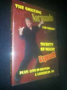 The Amazing Normondo the Great! Secrets of Magic – Magic DVD