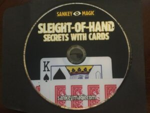 JAY SANKEY SLEIGHT-OF-HAND SECRETS WITH CARDS NEW ORIGINAL SLEEVE SHIPS USA