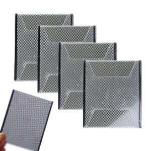 4 lot Plastic Card Sleeve Change Magic Trick Props for Fun Party Family Games