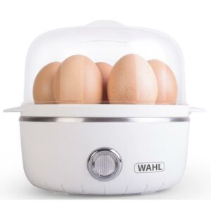 Wahl ZX945 Egg Boiler and Poacher w/ Removable Egg Tray for 1-7 Eggs – White