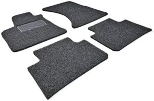AutoTech Zone Heavy Duty Custom Fit Car Floor Mat for 2017-2018 Hyundai Elantra Sedan Only (Does NOT fit Elantra GT), All Weather Protector 4 Piece Set (Black)