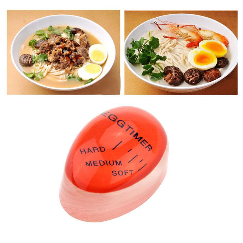 Egg timer indicator soft-boiled display egg cooked degree mini egg boiler  YYnd