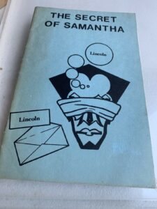 The Secret Of Samantha ( Magic Book) By Lincoln