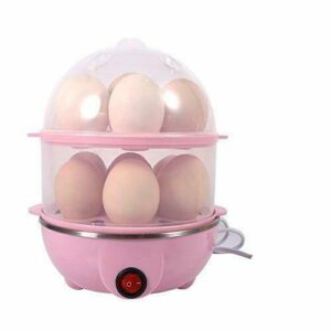 GosFrid Multi Function 2 Layer Electric Egg Cooker with Measuring  Free Shipping