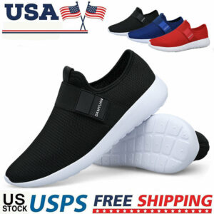 Men's Athletic Sneakers Tennis Walking Sports Running Casual Breathable Shoes US