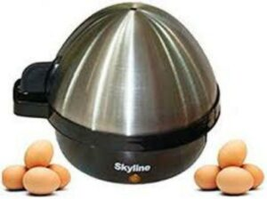 SKYLINE Electric Egg Boiler Cooker Poacher Steamer VTL-6161(7 Eggs)