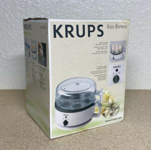 Krups Egg Express F230 Cooker Boiler Poacher 7 Eggs Hard Soft Boil **NEW IN BOX