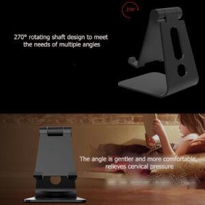 for Nubia Red Magic 5G Multi-function Portable Phone Bracket Desktop Lazy Holder