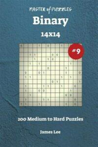 Master of Puzzles Binary – 200 Medium to Hard 14×14 Vol. 9, Like New Used, Fr…