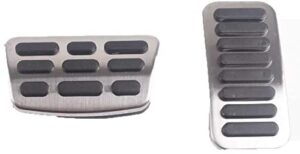 WOLDce car Accessories Foot Pedal Pads,Fit for Hyundai Elantra (AD) 2016 2017 2018 2019 for i30