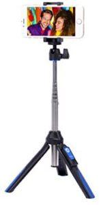 Benro BK10 Mini Selfie Stick Aluminum Tripod, Black (BK10)