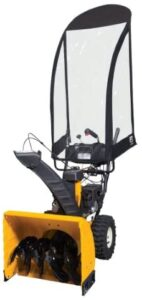 Classic Accessories 52-086-010401-00 Universal 2-Stage Snow Thrower Cab