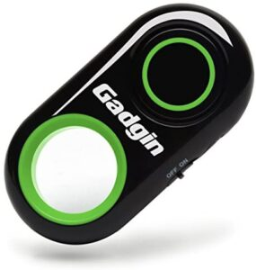 Premium Selfie Remote Control Camera Shutter Release – Amazing Video, Photo Wireless – for iPhone, iPad, Samsung Galaxy, Note, Tab, HTC, Moto, Android & iOS, Phone & Tablet (Green)