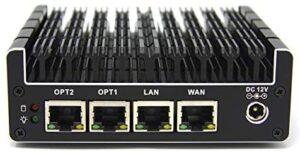 Protectli Vault 4 Port, Firewall Micro Appliance/Mini PC – Intel Quad Core, AES-NI, 4GB RAM, 32GB mSATA SSD