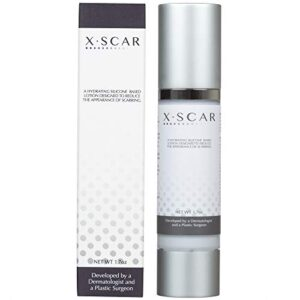 XScar Silicone Scar Cream with Vitamin E | Developed by a Dermatologist and a Plastic Surgeon | Safe to use on all ages