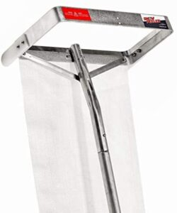 SnowPeeler Premium   Roof Rake for Snow Removal   9 m (30 ft.) Handle   Lightweight   Clear Your Roof in No Time   Ideal for Long or Low-Pitched Roofs   Tear-Resistant Snow Slide