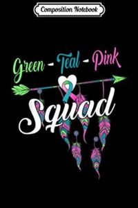 Composition Notebook: Metastatic Breast Cancer Squad Gift Warrior Stage 4 Journal/Notebook Blank Lined Ruled 6×9 100 Pages