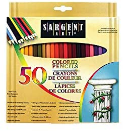 Sargent Art Colored Pencils (50 Count (2 Pack))