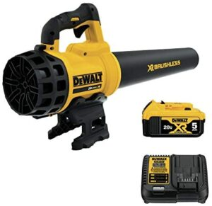 DEWALT 20V Brushless Blower with 5.0 Ah Battery (DCBL720P1)