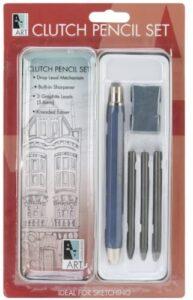Art Alternatives Pocket Clutch Pencil Set,Black,5.6 mm