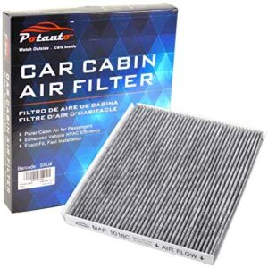 POTAUTO MAP 1018C (CF10728) Activated Carbon Car Cabin Air Filter Compatible Aftermarket Replacement Part