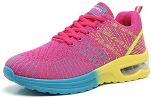 TSIODFO Women Sport Running Shoes Gym Jogging Athletic Sneakers